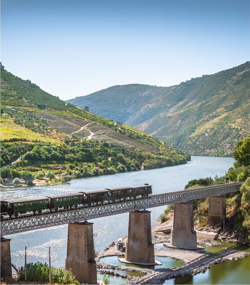 Train Tour in Portugal